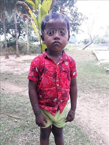 Choose a child to sponsor, like this little boy from Ghoraghat, Samuel age 4