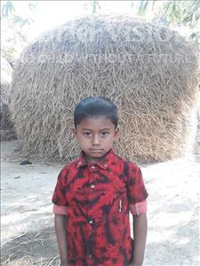 Choose a child to sponsor, like this little boy from Ghoraghat, Raihan age 4