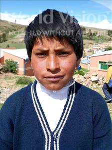 Choose a child to sponsor, like this little boy from Mosoj Punchay, Gregorio age 11