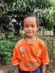 Choose a child to sponsor, like this little boy from Soutr Nikom, Phachano age 10