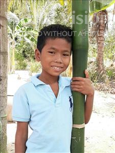 Choose a child to sponsor, like this little boy from Soutr Nikom, Veasna age 10
