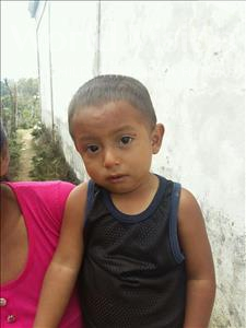 Choose a child to sponsor, like this little boy from Maya, Rene Isaac age 3