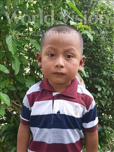Choose a child to sponsor, like this little boy from Maya, Gervin Jose age 4