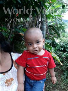 Choose a child to sponsor, like this little boy from Maya, Yeison Eduardo age 1