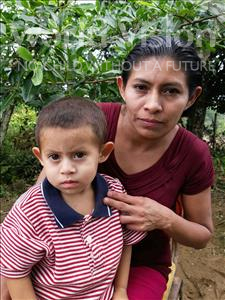 Choose a child to sponsor, like this little boy from Maya, Brayan Elias age 2