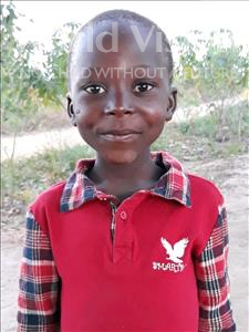 Choose a child to sponsor, like this little boy from Kazuzo, Amir Saide age 7