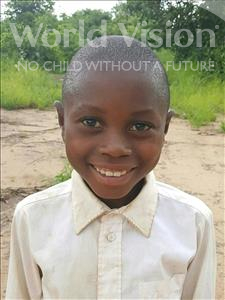 Choose a child to sponsor, like this little boy from Kazuzo, Rafael Amandio age 13