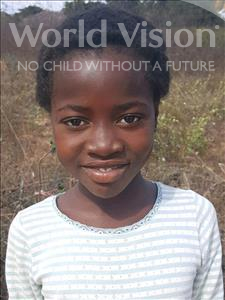 Choose a child to sponsor, like this little girl from Kazuzo, Hortencia Daniel age 11