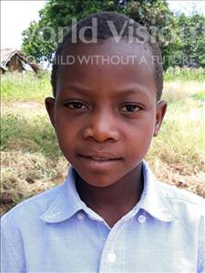 Choose a child to sponsor, like this little boy from Kazuzo, Osvaldo Alvaro age 8