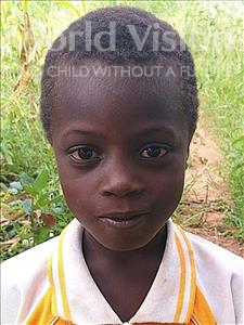 Choose a child to sponsor, like this little boy from Kazuzo, Agostinho Jose age 8