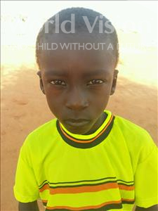 Choose a child to sponsor, like this little boy from Sirba, Ali age 7