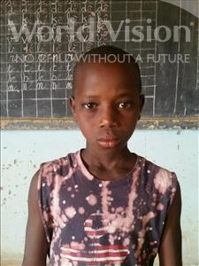 Choose a child to sponsor, like this little boy from Sirba, Soufiane age 11