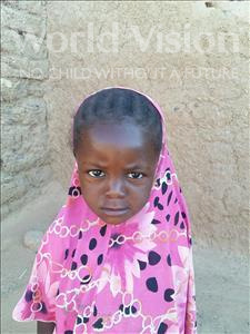 Choose a child to sponsor, like this little girl from Sirba, Rafia age 5