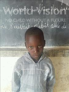 Choose a child to sponsor, like this little boy from Sirba, Harissou age 8