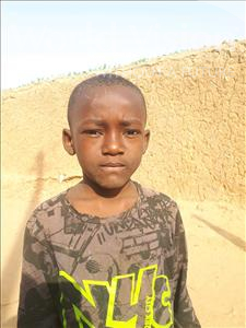 Choose a child to sponsor, like this little boy from Sirba, Ridouane age 6