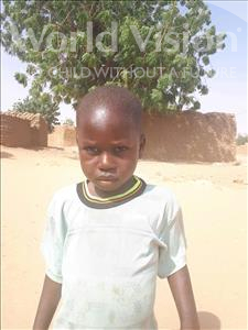 Choose a child to sponsor, like this little boy from Sirba, Marwane age 4