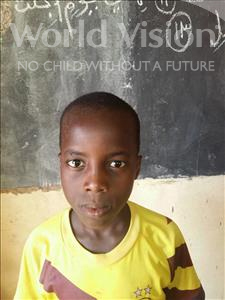 Choose a child to sponsor, like this little boy from Sirba, Mahamadou age 11