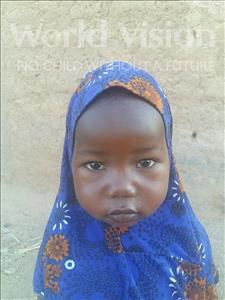 Choose a child to sponsor, like this little girl from Sirba, Fatouma age 4