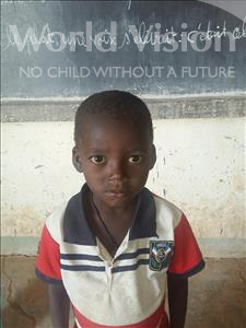 Choose a child to sponsor, like this little boy from Sirba, Loukmane age 6