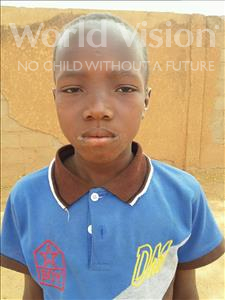 Choose a child to sponsor, like this little boy from Sirba, Adamou age 10