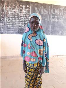 Choose a child to sponsor, like this little girl from Komabangou, Soueba age 10