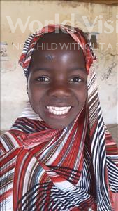 Choose a child to sponsor, like this little girl from Komabangou, Oubeida age 9