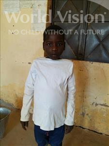 Choose a child to sponsor, like this little boy from Komabangou, Abdoulhakimou age 9