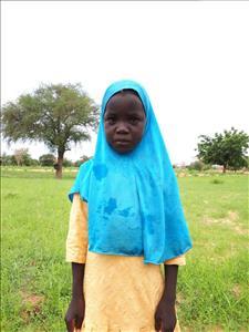 Choose a child to sponsor, like this little girl from Komabangou, Kadidja age 9