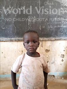 Choose a child to sponsor, like this little boy from Komabangou, Abdoul Waliou age 3