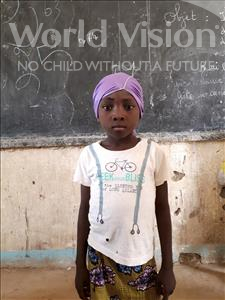 Choose a child to sponsor, like this little girl from Komabangou, Hadiza age 5