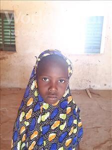 Choose a child to sponsor, like this little girl from Komabangou, Fatoumata age 7