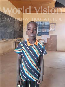 Choose a child to sponsor, like this little boy from Komabangou, Souhaylou age 9