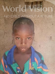 Choose a child to sponsor, like this little boy from Komabangou, Salmane age 6