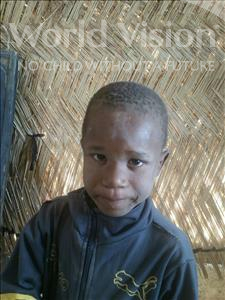 Choose a child to sponsor, like this little boy from Komabangou, Mahamadou age 6