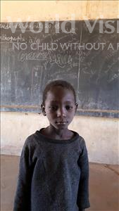 Choose a child to sponsor, like this little boy from Komabangou, Hamza age 7