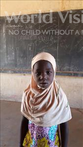 Choose a child to sponsor, like this little girl from Komabangou, Nafissa age 6