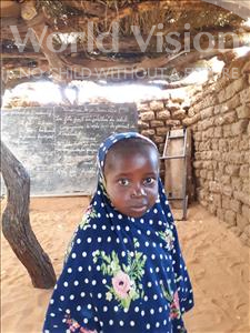Choose a child to sponsor, like this little girl from Komabangou, Roukeiya age 6