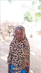 Choose a child to sponsor, like this little girl from Komabangou, Laila age 11
