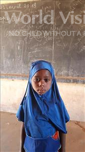 Choose a child to sponsor, like this little girl from Komabangou, Aissatou age 6