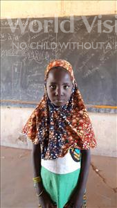 Choose a child to sponsor, like this little girl from Komabangou, Rachida age 8