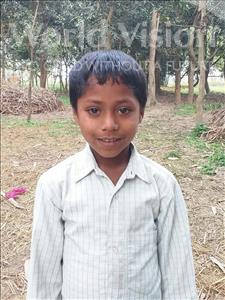 Choose a child to sponsor, like this little boy from Sarlahi, Abdhesh age 7