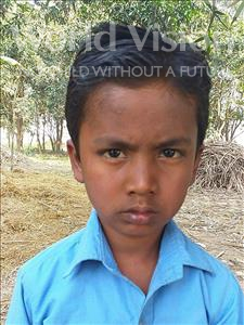 Choose a child to sponsor, like this little boy from Sarlahi, Prince Kumar age 6