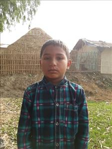 Choose a child to sponsor, like this little boy from Sarlahi, Aahamad age 10