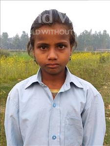 Choose a child to sponsor, like this little girl from Sarlahi, Amarwati age 9
