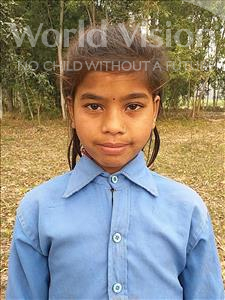Choose a child to sponsor, like this little girl from Sarlahi, Rupa Kumari age 9