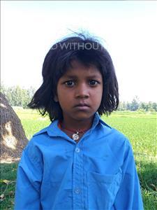 Choose a child to sponsor, like this little boy from Sarlahi, Minakshi Kumari age 5