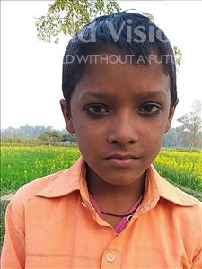 Choose a child to sponsor, like this little boy from Sarlahi, Murtuj age 7