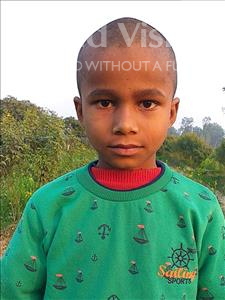 Choose a child to sponsor, like this little boy from Sarlahi, Nausad age 9