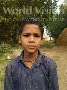 Choose a child to sponsor, like this little boy from Sarlahi, Amin age 10
