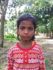 Choose a child to sponsor, like this little girl from Sarlahi, Nisha Kumari age 9